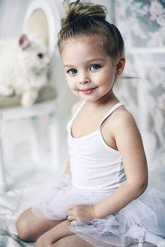 -A future prima ballerina