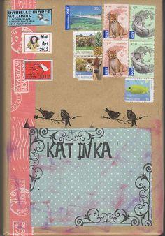 Danielle Maret - Mail art Package -197, via Flickr.