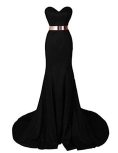 Dresstells Women's Mermaid Satin Dress Prom Dress Evening Gown