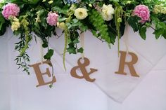 My wedding! WEDDING WEDDING WEDDING Names and letters - Top Table