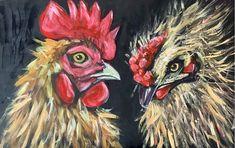 Watcha Cock . by Sylvia Evans Proper Job, Bird Paintings, Bird Drawings, Painting & Drawing, Evans, Artist, Paintings Of Birds, Artists, Bird Pictures
