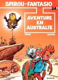 Spirou & Fantasio T34 - Aventures en Australie - Janry et Tome - Editions Dupuis