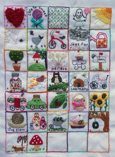 39 Squares - Progress Day 31-Suzitee by suzitee, via Flickr