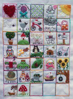 39 Squares - Progress Day 31-Suzitee by suzitee, via Flickr