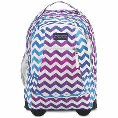 JanSport Driver 8 Wheeled Backpack (205 SGD) ❤ liked on Polyvore featuring  bags, a4ff96b865