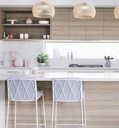Modern home design Home Interior, Kitchen Interior, New Kitchen, Kitchen Decor, Kitchen Design, Interior Decorating, Kitchen Island, Cool Kitchens, Ikea