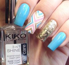 """Instagram media by nailsbyzb - Hi Mix & Match Nails for today! Insp. by @justagirlandhernails Products Used: @whatsupnails X Pattern Vinyls Kiko #376, #340 Elf: """"Pot of Gold"""" & """"Gold Star"""" Peggy Sage #034 @clairesstores nail art brush & clean-up brush Kiko 3 in 1 Topcoat #whatsupnails"""