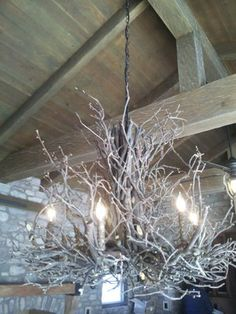Twig chandelier so pretty projects to do pinterest twig twig chandelier aloadofball Image collections