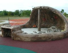 Dinosaur Pit Archaeology Site: Indoor and Outdoor playground equipment theme designs from DunRite Playgrounds http://www.dunriteplaygrounds.com/store