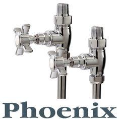 Phoenix Traditional Straight Radiator Valves