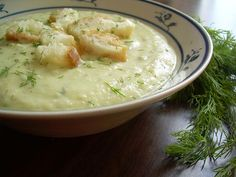 Pickle Soup.  I know it sounds strange, but it is really so amazing that you will crave it!
