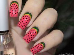 Watermelon Nails [nail art]
