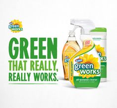 Green that really, really works.  #GreenWorksGames