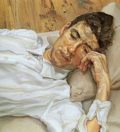 "Contemporary Paintings ( ""Painting by Lucian Freud"" Figure Painting, Painting & Drawing, Lucian Freud Paintings, Lucian Freud Portraits, Amedeo Modigliani, Artists And Models, Art Moderne, Francesca Woodman, Portrait Art"