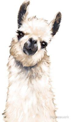 Cute drawings, animal drawings, watercolor animals, watercolor paintings, a Alpacas, Animal Paintings, Animal Drawings, Art Drawings, Face Paintings, Watercolor Animals, Watercolor Paintings, Body Painting, Lama Animal