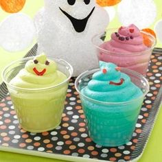 Halloween baby shower food Ghost Halloween Party #halloween #food #sweets www.loveitsomuch.com