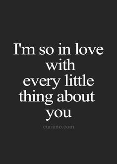 i m in love with you quotes for him