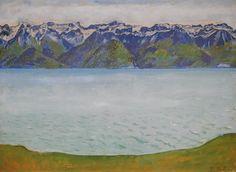 Lac Léman vu de Chexbres