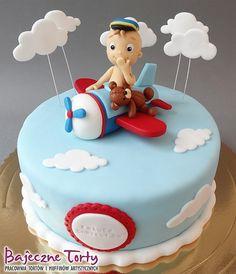 Tort samolot, tort na komunię torty dla dzieci, torty urodzinowe, torty Warszawa, torty na roczek, torty na zamówienie