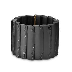 BLACK DIAMOND OVERLAPPING CUFF Jacqueline Cullen at Swoonery. So gorgeous!
