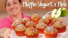 MUFFIN SOFFICI YOGURT E MELE Ricetta Facile - Fatto in Casa da Benedetta - YouTube Biscotti, Yogurt, Sweet Bakery, Cupcakes, Apple Cake, Sweet Recipes, Meal Planning, Muffins, Healthy Eating