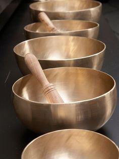 Donna Karan - Tibetan singing bowls