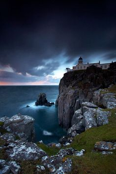 Neist Point Lighthouse, Scotland I should really try exploring my own country if only it wasn't so cold
