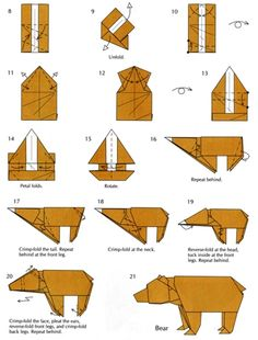 Image result for instructions origami furniture