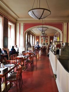 The Cafe Louvre in Prague has been around since 1902. The best breakfasts in Prague is the Northern Breakfast which includes a glass of champagne. Classy! http://www.cafelouvre.cz/en/