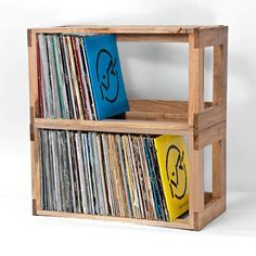 Mural of Record Storage Ideas