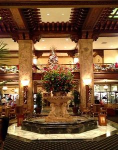 Peabody Hotel, Memphis, one of my favorite hotels.  My daughter-in-law and I stayed there once at Christmas time.  Of course we watched the march of the ducks!