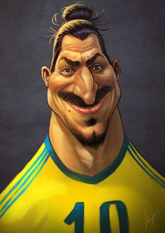 Zlatan Ibrahimovich by valiorea