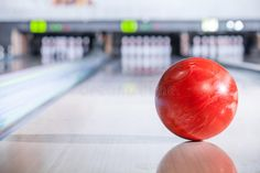 Bowling Ball With Pins Bowling Ball Going Down The Lane In A Five Pin Bowling A Sponsored Pins Ball Bowling Lane Alley Bowling Ball Bowling Ball