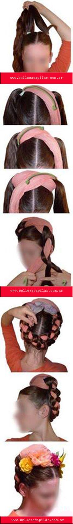 Aca te dejo un tutorial de como hacerte el peinado de nuestra gran querida Frida. Christian Diaz by. BELLEZA CAPILAR www.bellezacapilar.com.ar/nov