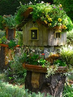 Beautiful birdhouse!