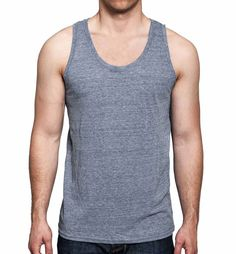 Tank Top - Charcoal - Front