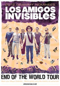 Los Amigos Invisibles @ Sargento Pimienta Lima 2009 y Estadio Nacional Lima 2013