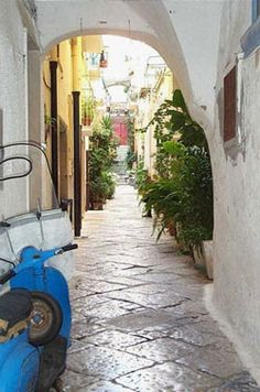 Gaeta, Italy - Seaside Village South of Rome  {Look Into Renting a Villa Here}