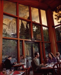 Mountain Room restaurant at Yosemite Lodge
