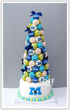 Coffee Cake Squishy Monster : 1000+ images about Monsters university (: on Pinterest Monster university cakes, Monster ...