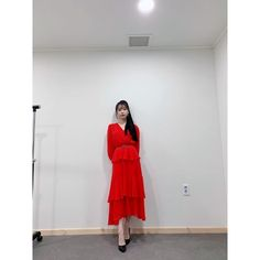 Image may contain: one or more people, people standing and indoor Luna Fashion, Kpop Fashion, Korean Fashion, Fashion Outfits, Classy Fashion, Girl Celebrities, Korean Celebrities, Kpop Mode, Iu Hair