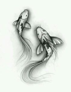 Resultado de imagen para koi fish tattoo for girls