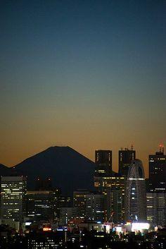 Mt. Fuji, Japan by bsmethers