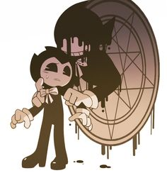 Anime Bendy and the Ink Machine Fan Art
