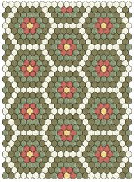 Samples of Hexagon Quilts | Quilt Patterns & Blocks | Angie's Bits 'n Pieces