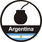 Hamburguesa Argentina. Se hace con carne de ternera, tres pimientas y pimentón de la vera. Yummy!