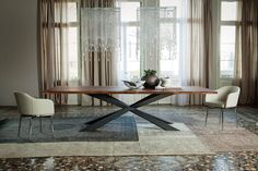 Dining tables | Tables | Spyder Wood | Cattelan Italia | Philip. Check it out on Architonic