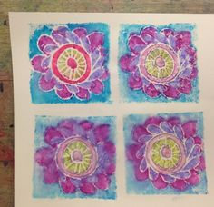 Art Room Blog: Printmaking Walk-Up Workshop VAEA 2015 Step-by-Step Lesson Plan...