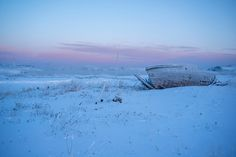 Уникальное место, где снимался нашумевший российский фильм «Левиафан». Действительность, как она есть...