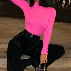 ριntєrєѕt: үαsмιη к.ღ vsco:theya Neon Outfits, Edgy Outfits, Mode Outfits, Cute Casual Outfits, Fashion Outfits, Fashion Killa, Look Fashion, Teen Fashion, Urban Fashion Women